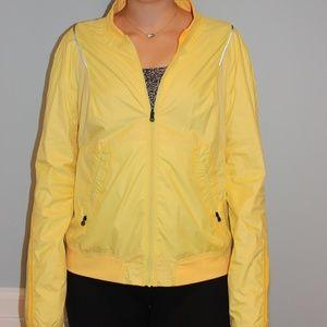 Reversible Orange/Yellow Lululemon Running Jacket